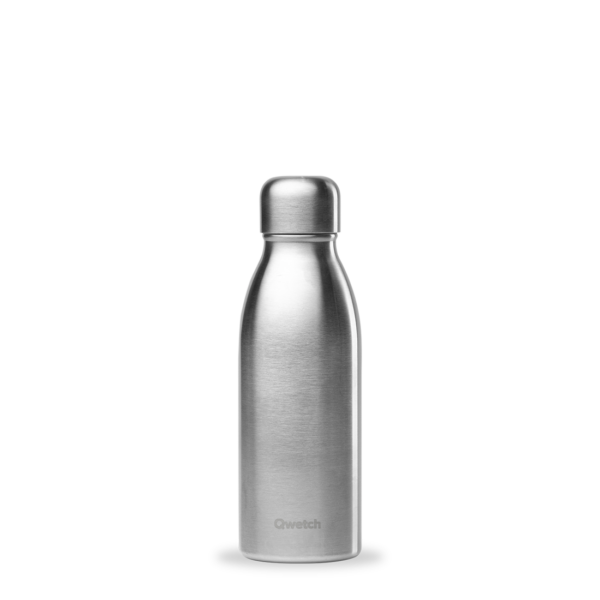 Gourde non isotherme inox