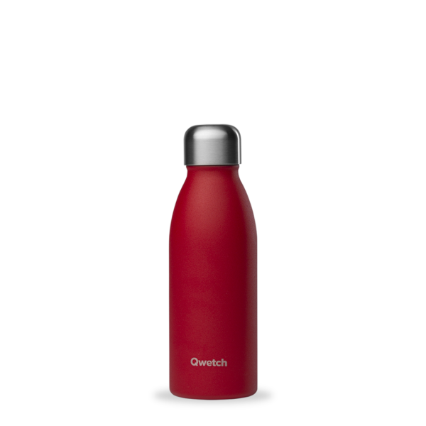 Bouteille non isotherme rouge