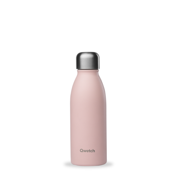 Bouteille non isotherme pastel rose