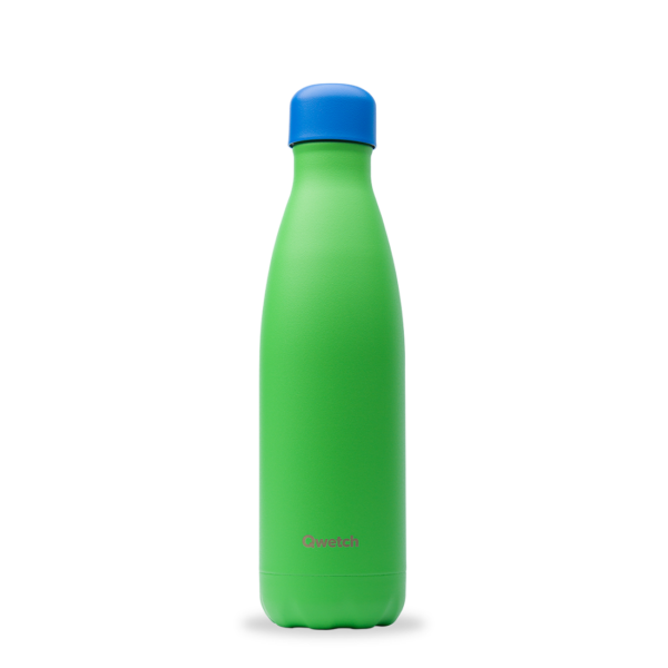 Bouteille isotherme Colors Vert - Qwetch